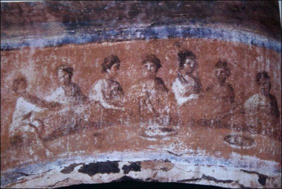 Catacomb Santa Priscilla